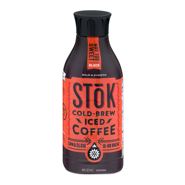 SToK Cold Brew Coffee Not Too Sweet Black