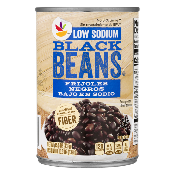Giant Black Beans Low Sodium