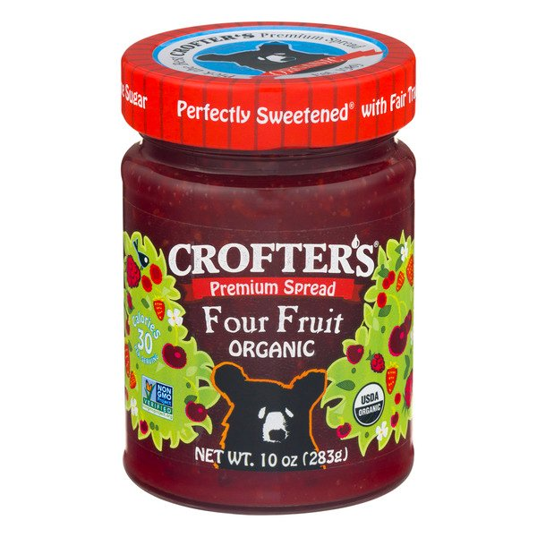 Crofter's Premium Spread Four Fruit Organic