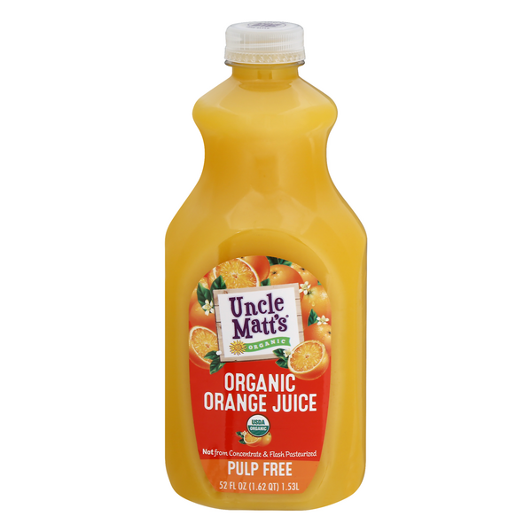 Uncle Matt's Orange Juice Pulp Free Organic