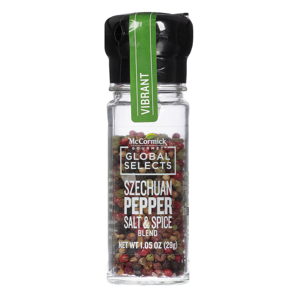 McCormick Gourmet Global Selects Szechuan Pepper Salt & Spice Blend