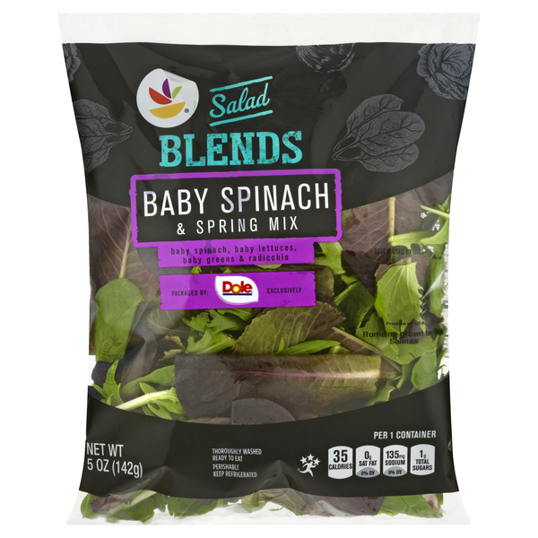 GIANT Salad Blends Baby Spinach & Spring Mix