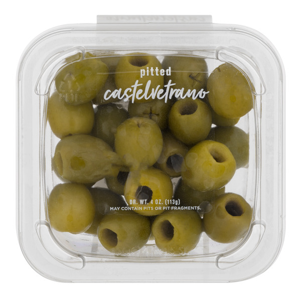 DeLallo Pitted Natural Castelvetrano Olives in Brine