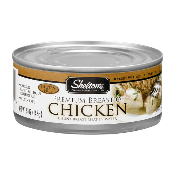 Shelton's Premium Breast of Chicken in Water Gluten Free
