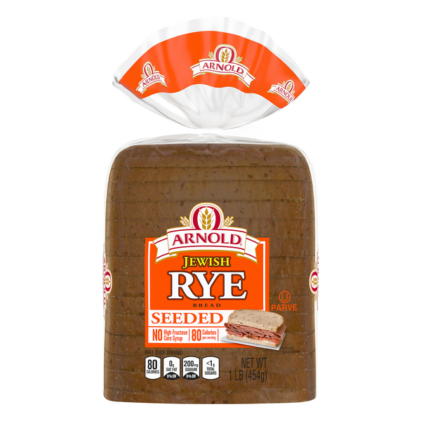 Arnold Real Jewish Rye Bread Seeded