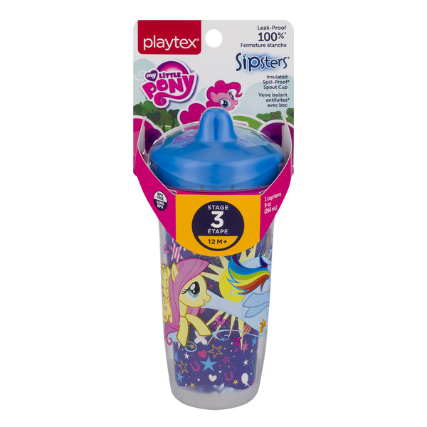 Playtex Sipsters Stage 3 Leak-Proof Spout Cup My Little Pony