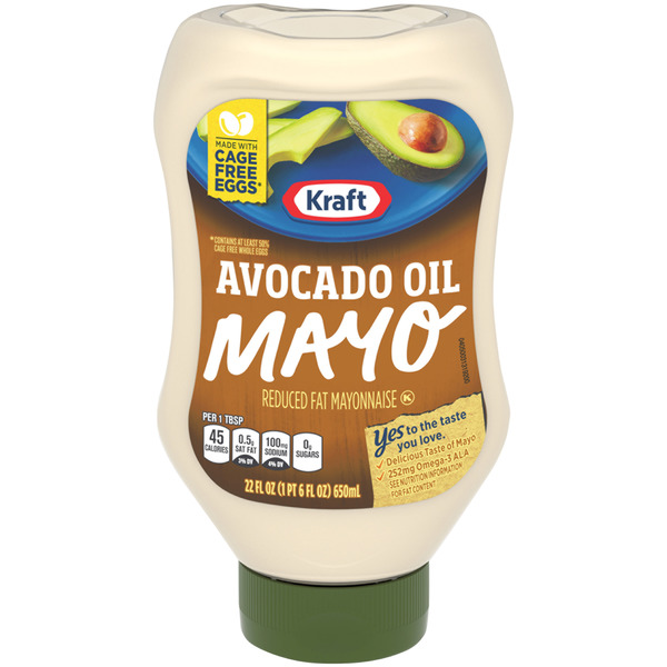 Kraft Mayo with Avocado Oil Reduced Fat