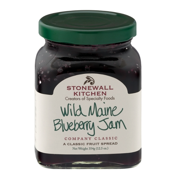 Stonewall Kitchen Jam Wild Maine Blueberry All Natural