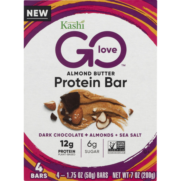 Kashi Go Love Protein Bar Almond Butter - 4 ct