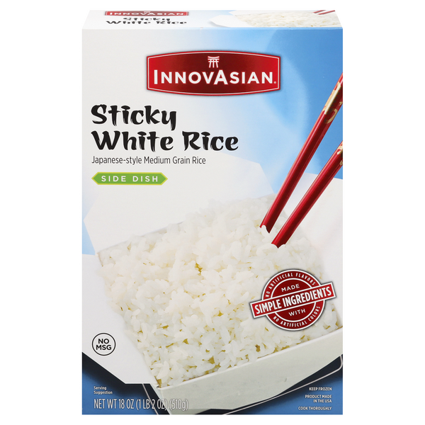 InnovAsian Side Dish Sticky White Rice
