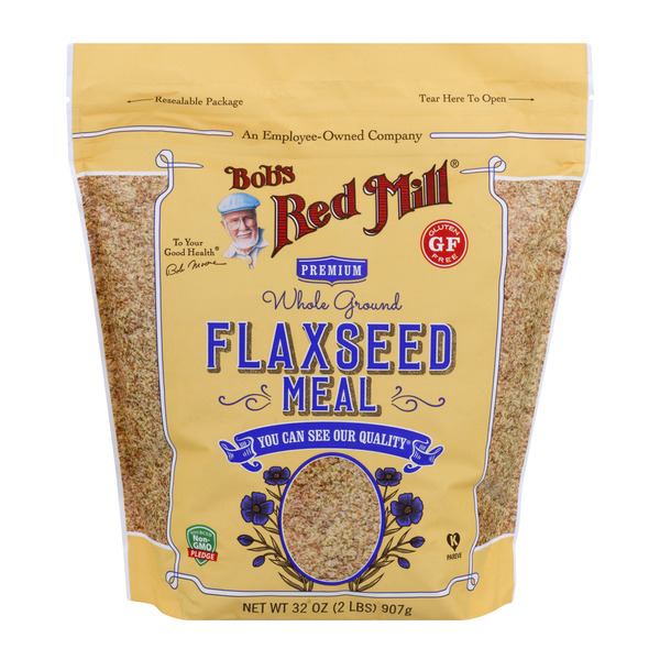 Bob's Red Mill Premium Whole Ground Flaxseed Meal