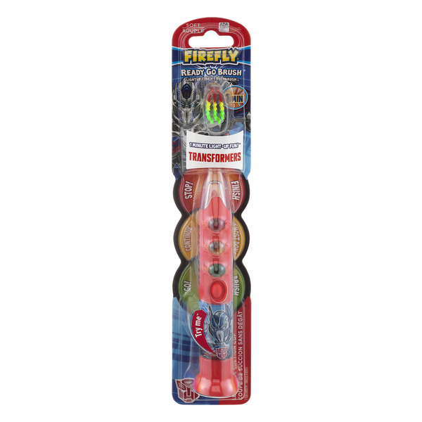 Firefly Ready Go Brush Toothbrush Transformers