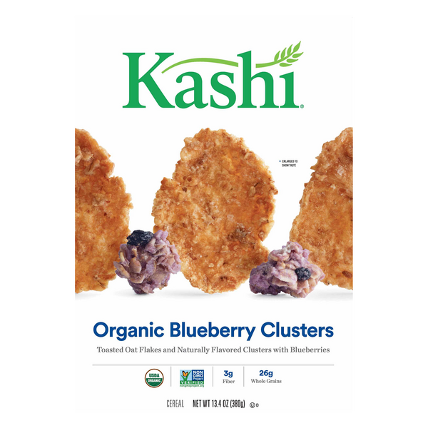 Kashi Toasted Oat Cereal Blueberry Clusters Organic