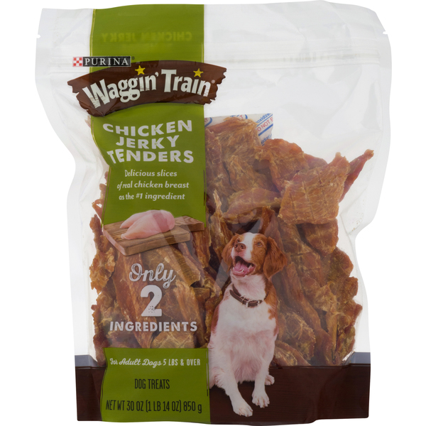 Waggin Train Dog Treats Chicken Jerky Tenders
