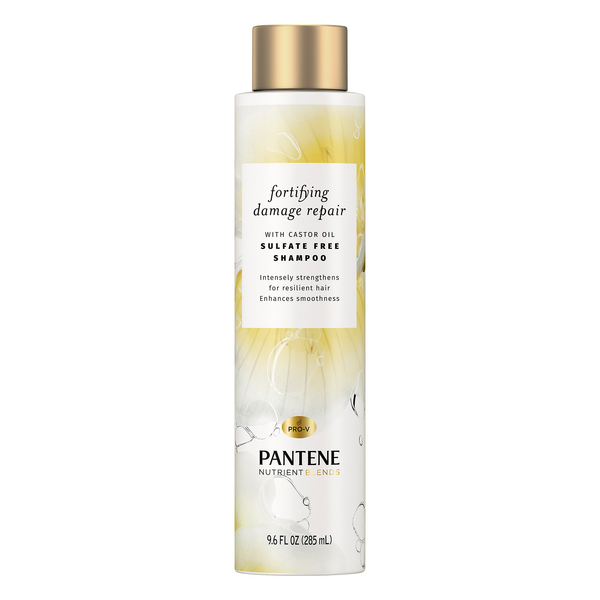 Pantene Nutrient Blends Fortifying Damage Repair Shampoo w/Castor Oil