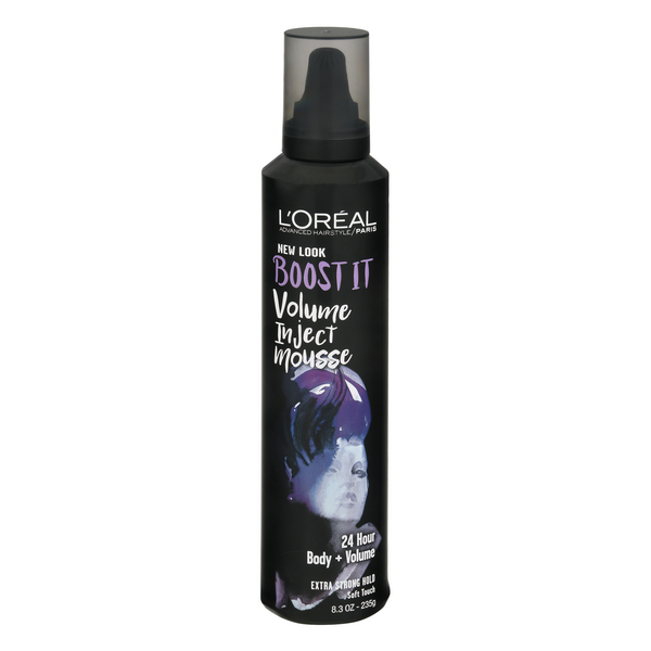 L'Oreal Advanced Haircare Boost It Volume Inject Mousse Strong Hold #4
