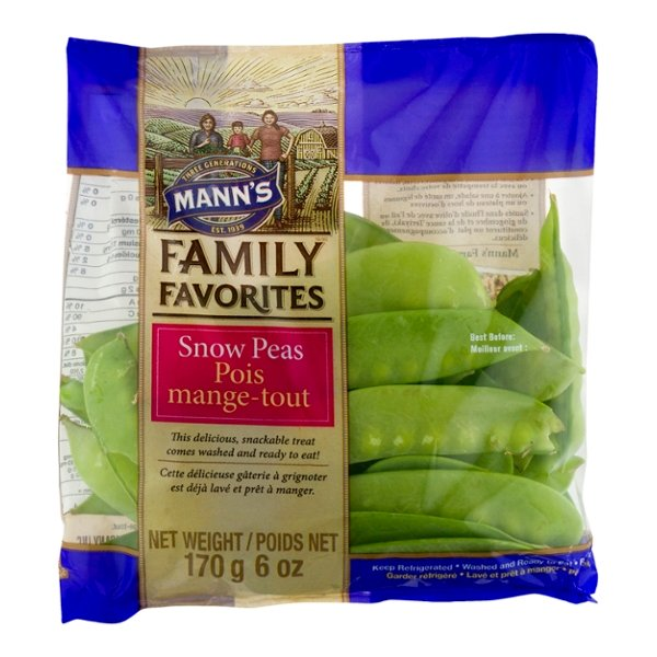 Mann's Family Favorites Snow Peas