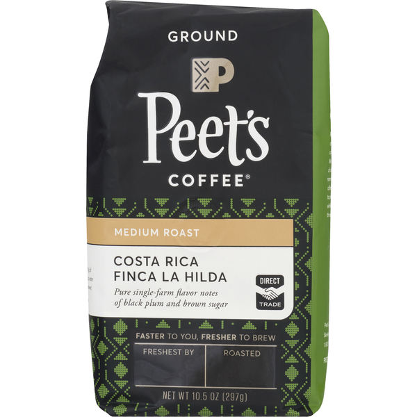 Peet's Costa Rica Medium Roast Coffee (Ground)