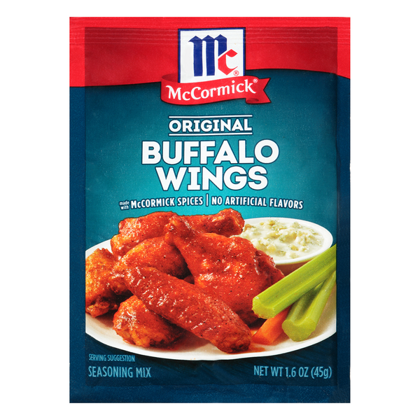 McCormick Buffalo Wing Seasoning Mix Original