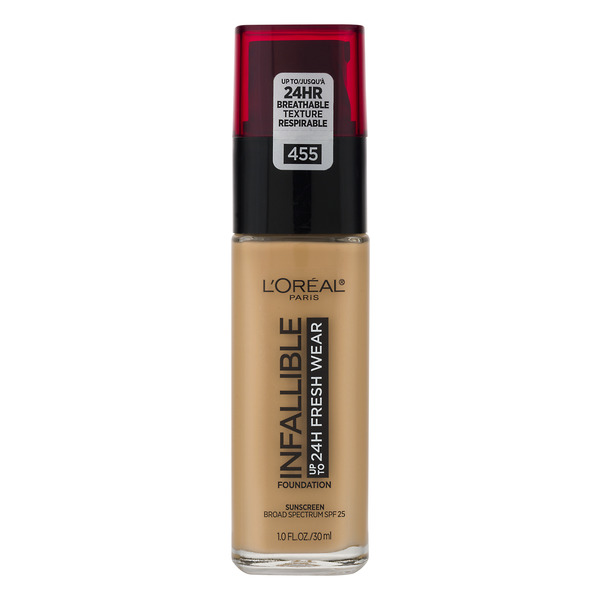 L'Oreal INFALLIBLE up to 24H Fresh Wear Foundation Natural Buff 455