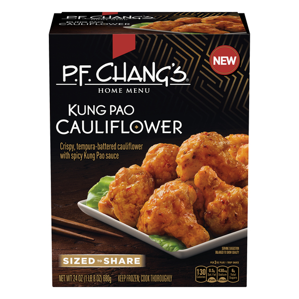P.F. Chang's Home Menu Kung Pao Cauliflower