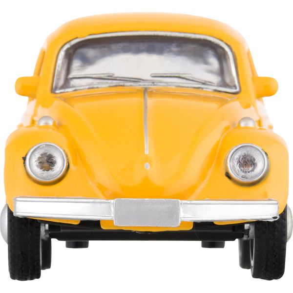 RMZ City Toy VW Beetle Vehicle Yellow