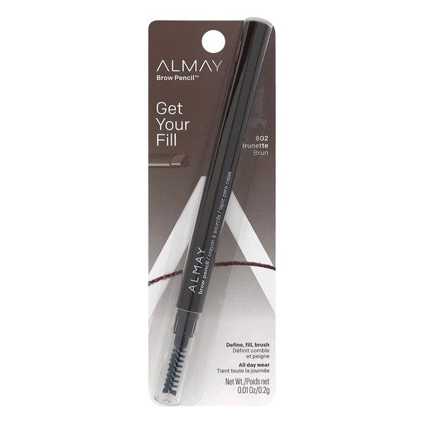 Almay Brow Pencil Get Your Fill Brunette 802