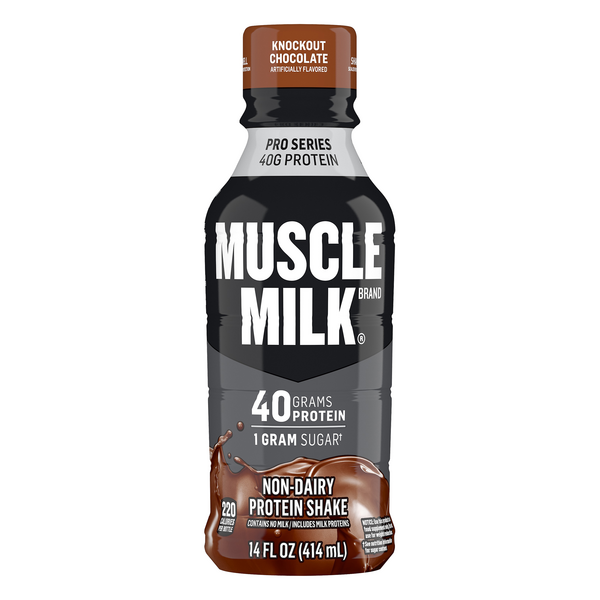 Muscle Milk Pro Series Non Dairy Protein Shake Knockout Chocolate