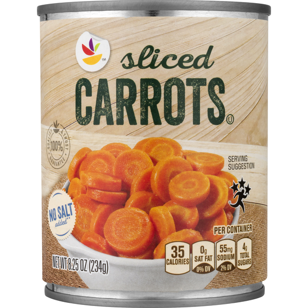 GIANT Sliced Carrots No Salt Added