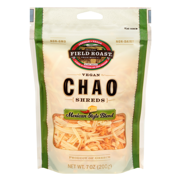 Field Roast Chao Shreds Mexican Style Blend Vegan