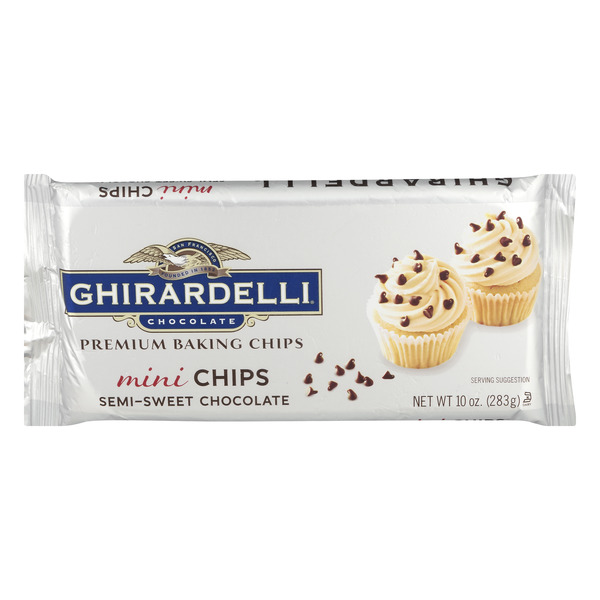Ghirardelli Mini Baking Chips Semi-Sweet Chocolate
