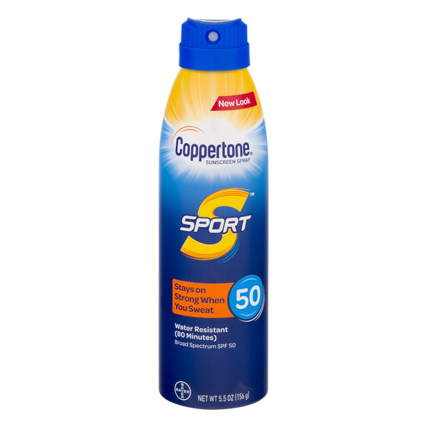 Coppertone SPORT Sunscreen Spray SPF 50