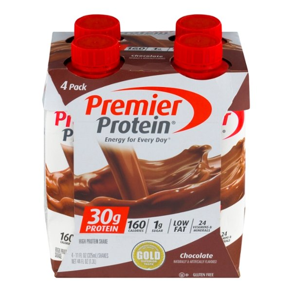 Premier Protein High Protein Shake Chocolate - 4 ct