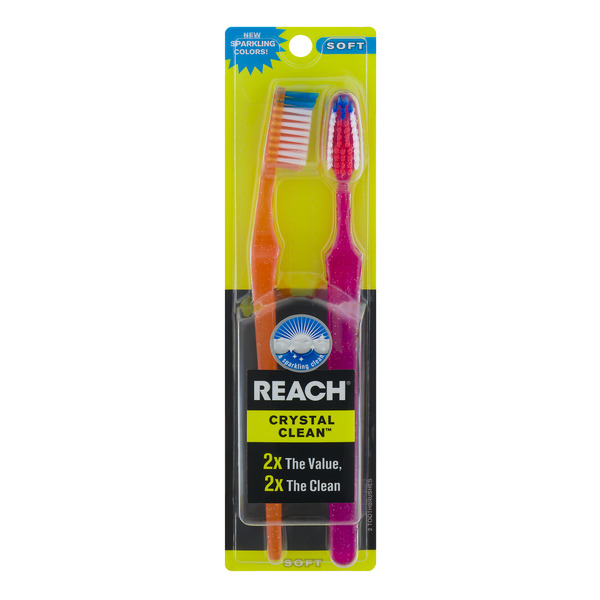 Reach Crystal Clean Toothbrushes