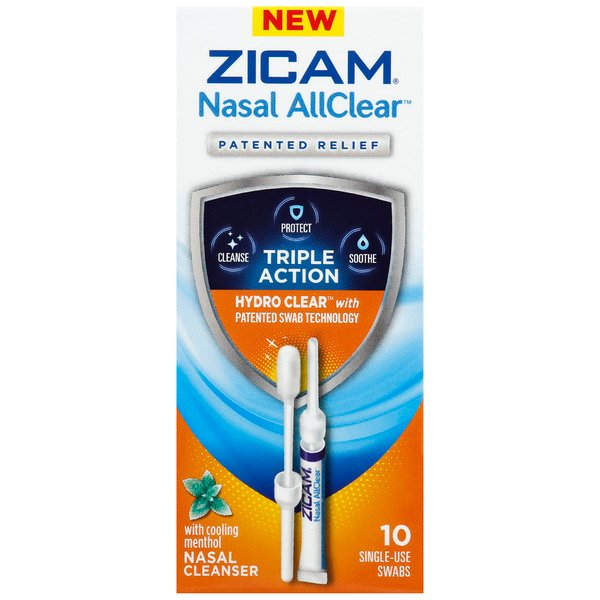 Zicam Nasal All Clear Nasal Cleaner Swabs