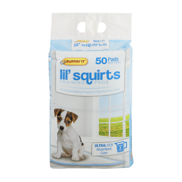 Ruffin' It Lil' Squirts Training Pads 21 x 22 Inch