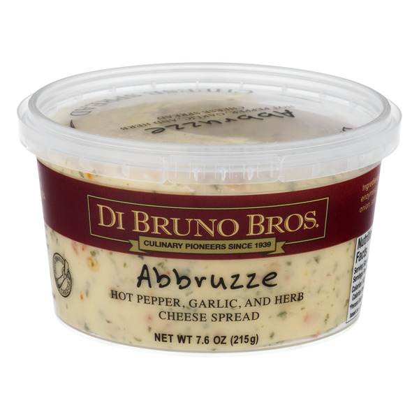 Di Bruno Bros. Cheese Spread Abbruzze (Hot Pepper, Garlic & Herbs)