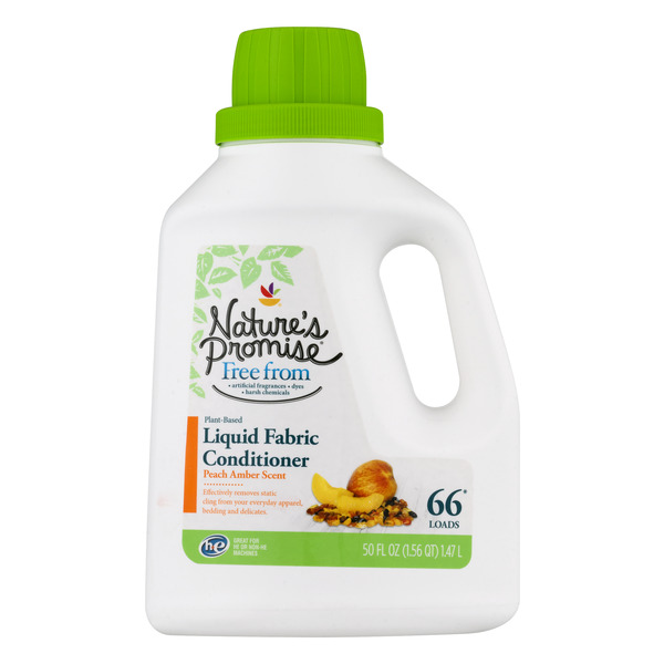 Nature's Promise Free from Liquid Fabric Conditioner Peach Amber Scent
