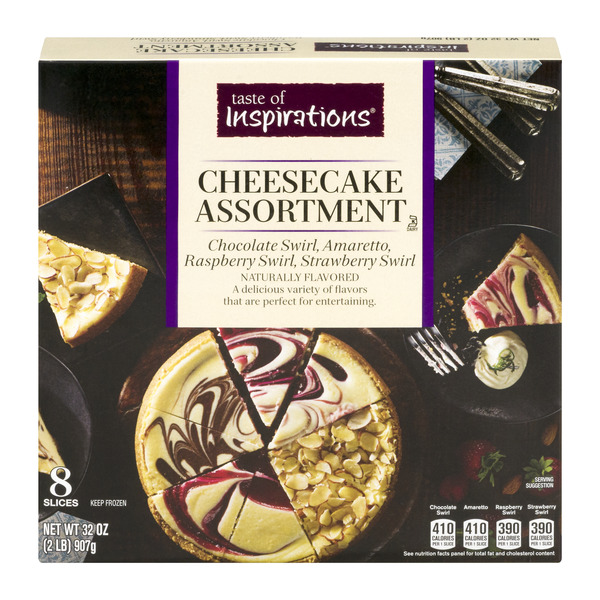 Taste of Inspirations Cheesecake Assortment - 8 Slices
