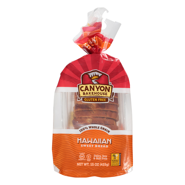 Canyon Bakehouse Hawaiian Sweet Bread Gluten Free