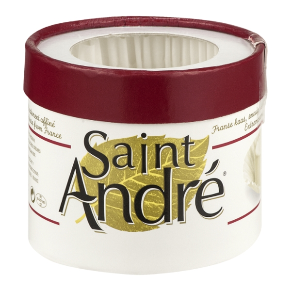 Saint Andre Brie Cheese Triple Creme Wedge
