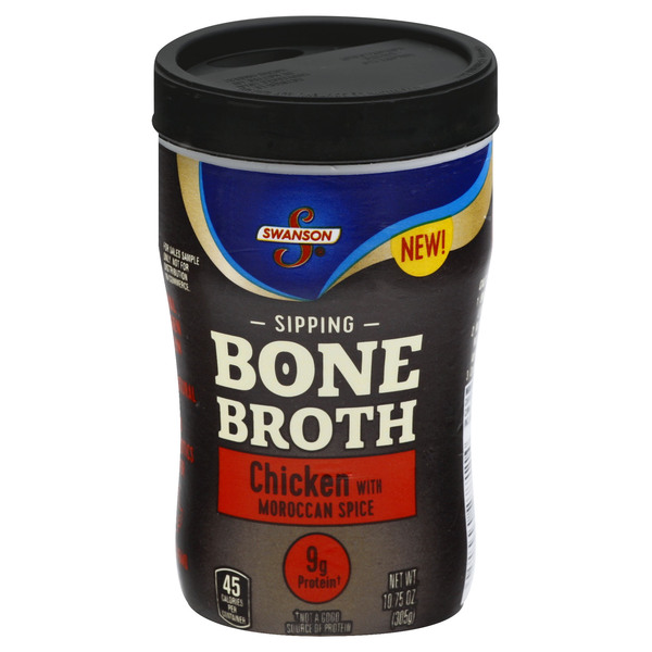 Swanson Sipping Bone Broth Chicken with Moroccan Spice