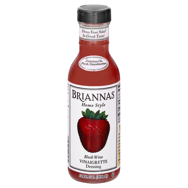 Briannas Home Style Blush Wine Vinaigrette Dressing