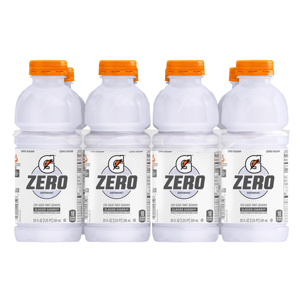 Gatorade G Zero Thirst Quencher Sports Drink Glacier Cherry - 8 pk