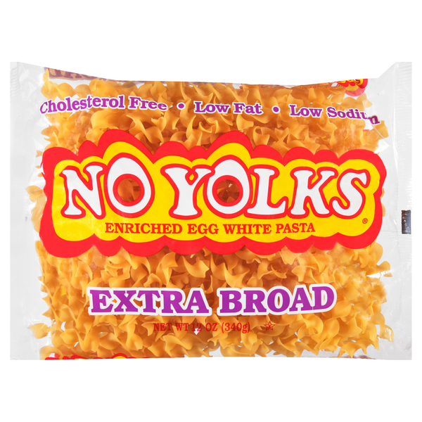 No Yolks Egg Noodles Extra Broad