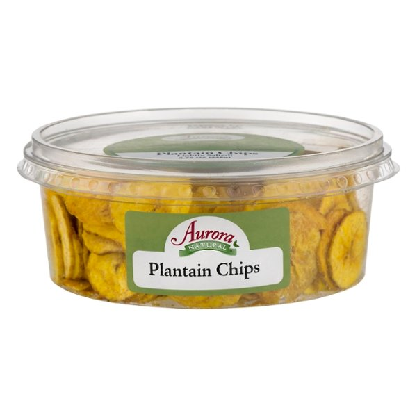 Aurora Natural Plantain Chips Lightly Salted