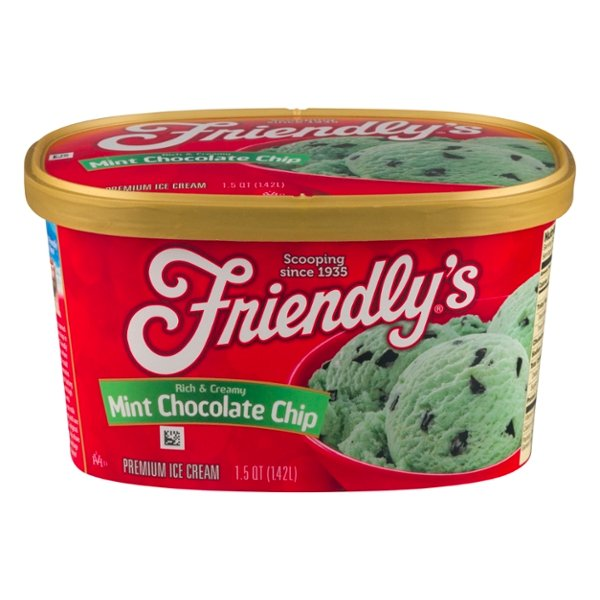 Friendly's Ice Cream Mint Chocolate Chip