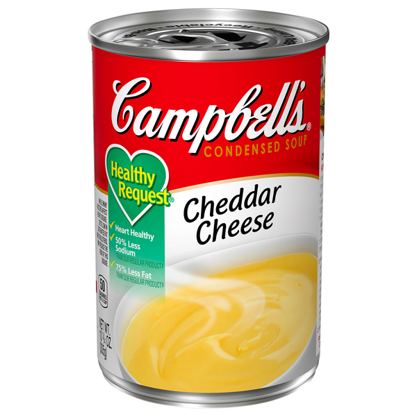 Campbell's Healthy Request Condensed Cheddar Cheese Soup