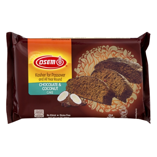 Osem Cake Chocolate & Coconut Kosher for Passover