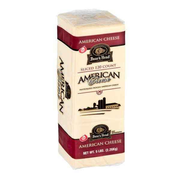 Boar's Head Deli American Cheese White (Regular Sliced)
